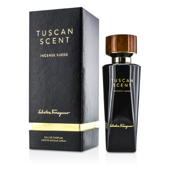 Salvatore Ferragamo Tuscan Scent Incense Suede Eau De Parfum Spray  75ml/2.5oz