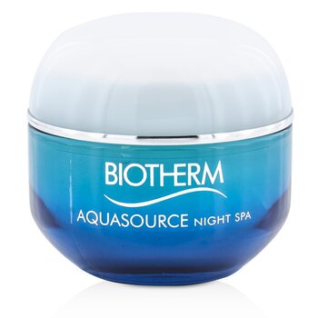 Balsam do twarzy na noc Aquasource Night SPA Triple Spa Effect Night Balm (do każdego rodzaju skóry)  50ml/1.69oz