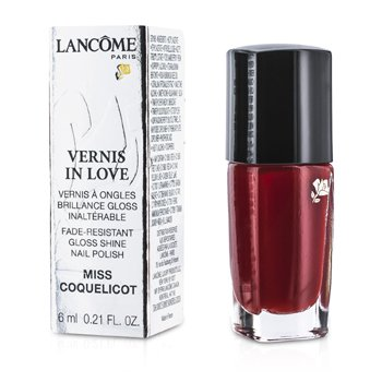 Lancome Vernis In Love Nail Polish - # 154M Miss Coquelicot  6ml/0.21oz