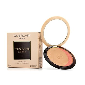 Guerlain Terracotta Joli Teint Natural Healthy Glow Powder Duo - # 02 Naturel/Natural Blondes  10g/0.35oz
