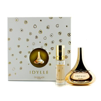 Guerlain Idylle Coffret: Eau De Pafrum Spray 50ml/1.7oz + Eau De Pafrum Purse Spray 15ml/0.5oz  2pcs