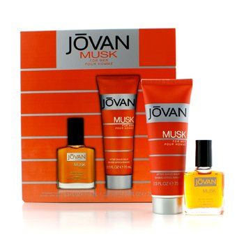 Jovan Musk Coffret: After Shave 15ml/0.5oz + After Shave Balm 75ml/2.5oz  2pcs