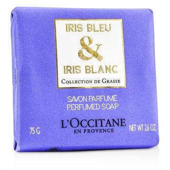 L'Occitane Iris Bleu & Iris Blanc Perfumed Soap  75g/2.6oz