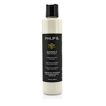 Philip B Anti-Flake II Relief Shampoo (Soothes Dry or Oily, Flaky Scalp)  220ml/7.4oz