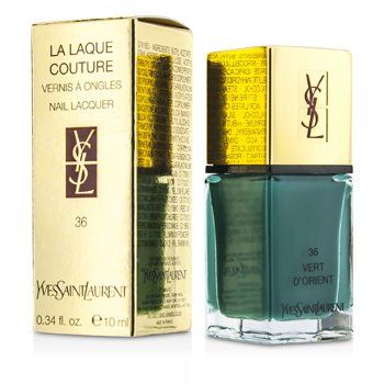 Yves Saint Laurent La Laque Couture Nail Lacquer - # 36 Vert D'Orient  10ml/0.34oz