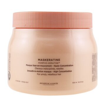 Discipline Maskeratine Smooth-in-Motion Masque - High Concentration (For Unruly, Rebellious Hair)  500ml/16.9oz