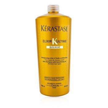 Kerastase Elixir Ultime Oleo-Riche Rich Şampun (Qalın Saçlar Üçün)  1000ml/34oz