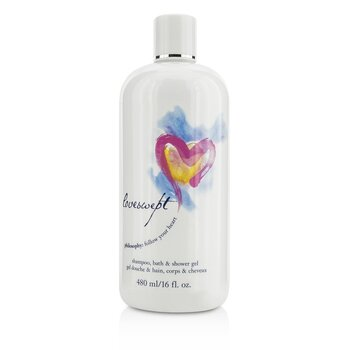 Philosophy Loveswept Champú, Gel Baño & Ducha  480ml/16oz