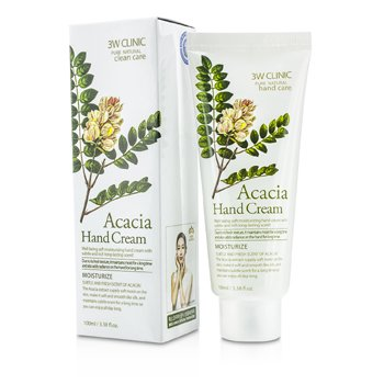 3W Clinic Crema Manos - Acacia  100ml/3.38oz