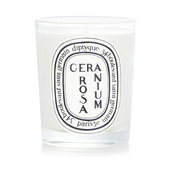 Scented Candle - Geranium Rosa (Rose Geranium) 190g/6.5oz