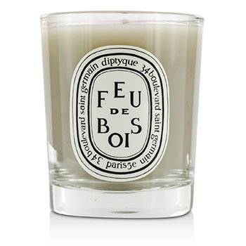Scented Candle - Feu De Bois (Wood Fire)  70g/2.4oz