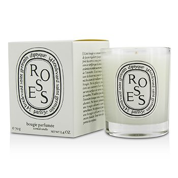 Scented Candle - Roses  70g/2.4oz