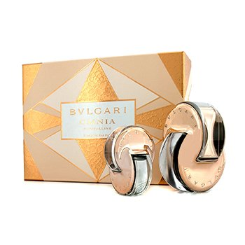 Bvlgari Omnia Crystalline Coffret: L'Eau De Parfum Spray 65ml/2.2oz + L'Eau De Parfum Purse Spray 15ml/0.5oz  2pcs