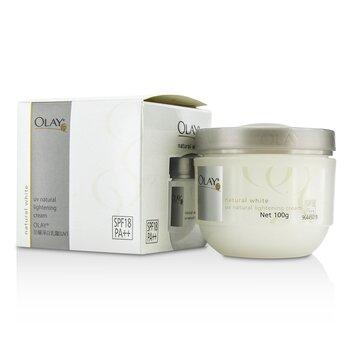 Natural White UV Natural Lightening Cream SPF 18  100g/3.5oz