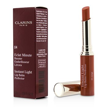 Clarins Eclat Minute Instant Light Lip Balm Perfector - # 04 Orange  1.8g/0.06oz