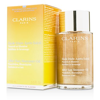 Clarins Aceite Brillo Pos Solar  100ml/3.3oz