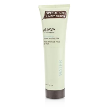 Ahava Deadsea Water Crema Mineral Pies  150ml/5oz
