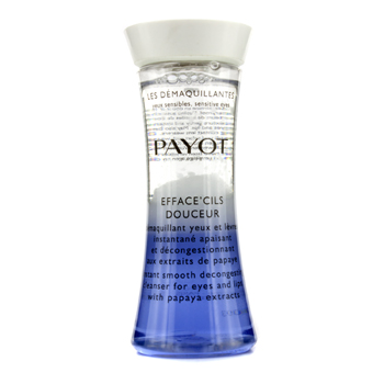 Payot Les Demaquillantes Efface' Cils Douceur Instant Smooth Decongesting Cleanser For Eyes & Lips - Pembersih Mata & Bibir  125ml/4.2oz