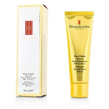 Elizabeth Arden Pure Finish Humectante Mineral Color SPF 15 - # 04 Deep  50ml/1.7oz