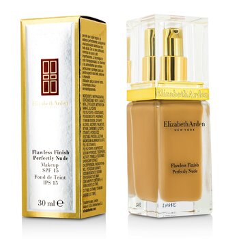 Elizabeth Arden Maquiagem Finalizadora Flawless Finish Perfectly Nude Makeup SPF 15 - # 18 Cashew  30ml/1oz
