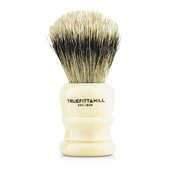 Wellington Super Badger Shave Brush - # Faux Ivory  1pc