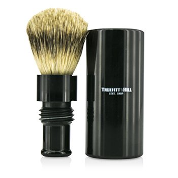 Turnback Traveler Badger Hair Shave Brush - # Ebony  1pc