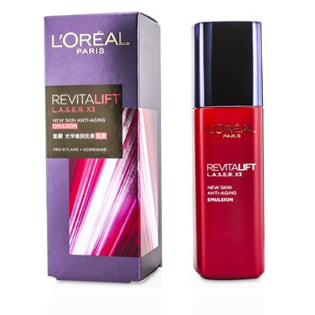 �ڵܶ� Revitalift Laser x3 - New Skin Anti-Aging Emulsion  125ml/4.23oz