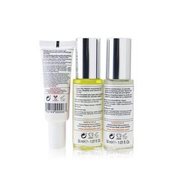 Age Resist Trio: Face Oil 30ml/1.01oz + Firming Elixir 30ml/1.01oz + Eye Elixir 25ml/0.85oz  3pcs