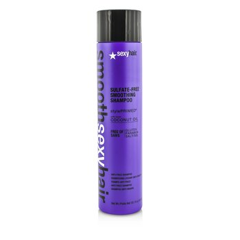 Smooth Sexy Hair Sulfate-Free Smoothing Shampoo (Anti-Frizz)  300ml/10.1oz
