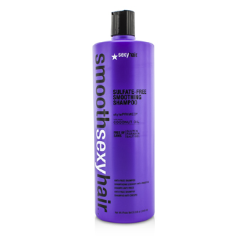 Smooth Sexy Hair Sulfate-Free Smoothing Shampoo (Anti-Frizz)  1000ml/33.8oz