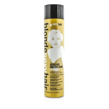 Blonde Sexy Hair Sulfate-Free Bombshell Blonde Conditioner (Daily Color Preserving)  300ml/10.1oz