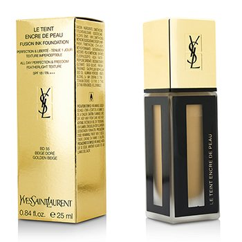 Yves Saint Laurent Le Teint Encre De Peau Fusion Ink Foundation SPF18 - # BD55 Beige Dore  25ml/0.84oz