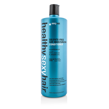 Sexy Hair Concepts Healthy Sexy Hair  Acondicionador Humectante Soja  Libre de Sulfato  1000ml/33.8oz