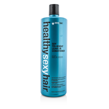 Healthy Sexy Hair Soy Tri-Wheat Leave In Conditioner 1000ml/33.8oz