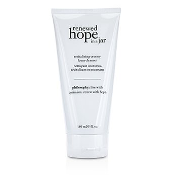 פילוסופי Renewed Hope In a Jar Revitalizing Creamy Foam Cleanser - קצף ניקוי קרמי  150ml/5oz