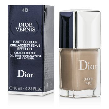 Christian Dior Dior Vernis Couture Colour Gel Shine & Long Wear Nail Lacquer - # 413 Grege  10ml/0.33oz