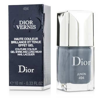 Christian Dior Dior Vernis Couture Colour Gel Shine & Long Wear Nail Lacquer - # 494 Junon  10ml/0.33oz
