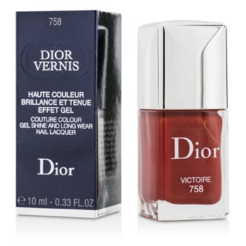 Christian Dior Dior Vernis Couture Esmalte Uñas Larga Duración Brillo Gel  - # 758 Victoire  10ml/0.33oz