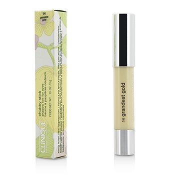 Clinique Chubby Stick Shadow  Tinta para Ojos - # 14 Grandest Gold  3g/0.1oz