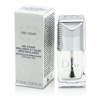 Christian Dior Gel Coat (Spectacular Shine & Shape Top Coat Gel)  10ml/0.33oz
