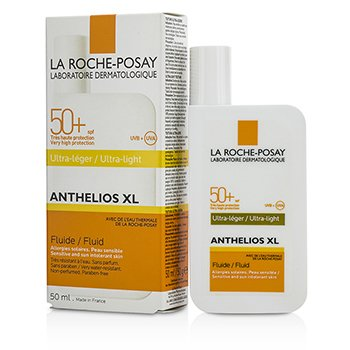 Anthelios XL Fluid SPF 50+ - For Sensitive & Sun Intolerant Skin - # Ultra-Light  50ml/1.69oz