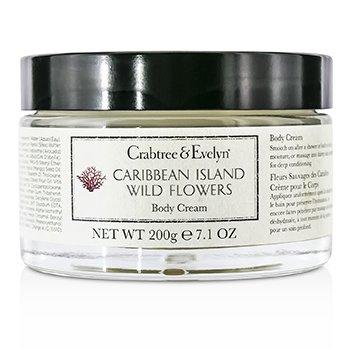 Crabtree & Evelyn Caribbean Island Wild Flowers Body Cream  200g/7.1oz