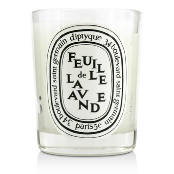 Scented Candle - Feuille De Lavande (Lavender Leaf)  190g/6.5oz