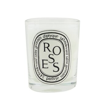 Scented Candle - Roses (Unboxed)  190g/6.5oz