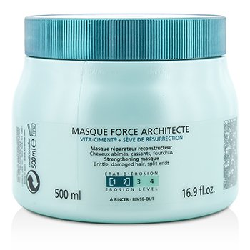 Resistance Force Architecte Reconstructing Masque (For Brittle, Very Damaged Hair, Split Ends)  500ml/16.9oz