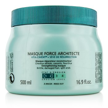 卡詩  Resistance Force Architecte Reconstructing Masque (For Brittle, Very Damaged Hair, Split Ends)  500ml/16.9oz