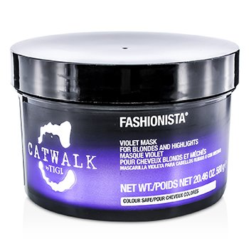 Tigi Catwalk Fashionista Violet Mask (For Blondes and Highlights)  580g/20.46oz