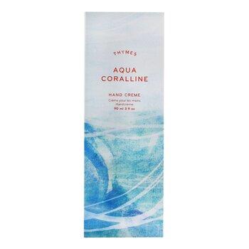 Aqua Coralline Hand Cream  90ml/3oz