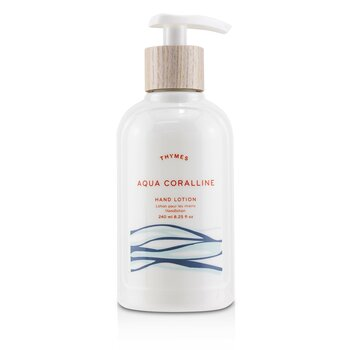 Aqua Coralline Hand Lotion  240ml/8.25oz