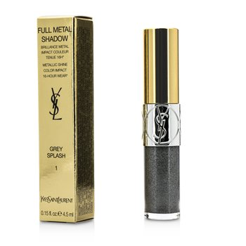 Yves Saint Laurent Full Metal Color Ojos - #01 Grey Splash  4.5ml/0.15oz